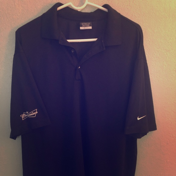 Nike Other - Nike Drifit Budweiser Golf Shirt